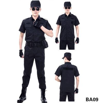 夏装短袖保安服制服特训服