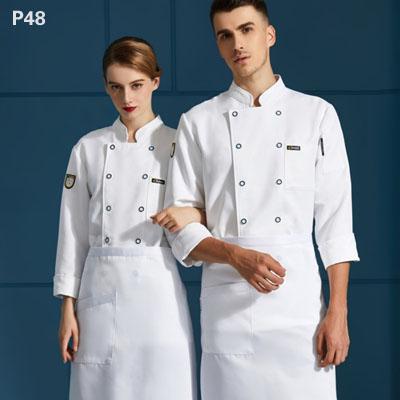 餐饮厨师服装图片大全厨师工作服