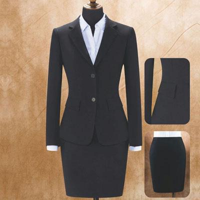 高档西服女装定制工作服款式图片
