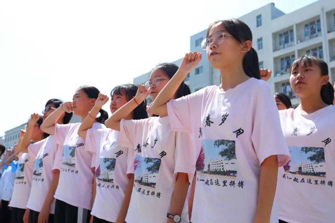 决战中考誓师大会T恤免费印字款式图3