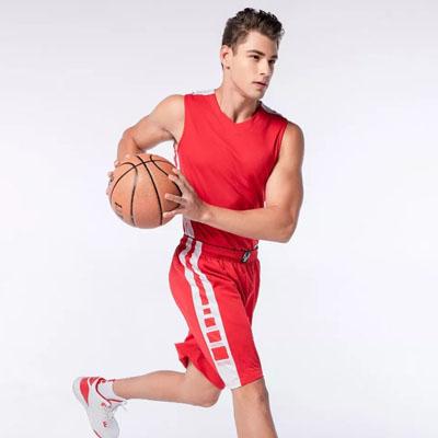 篮球衣服印广告字活动比赛球服定制