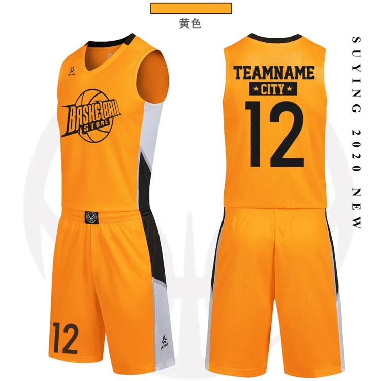 新款篮球服