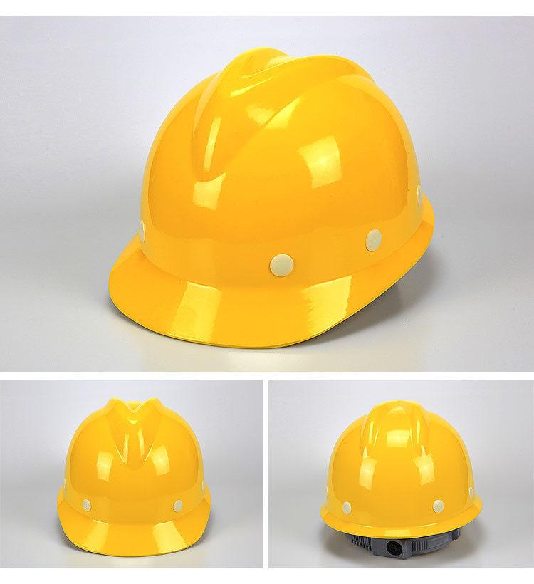 安全帽领导V型工地防砸玻璃钢帽款式图5