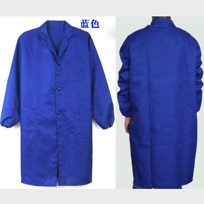 广告大褂印字肥料蓝大褂工作服