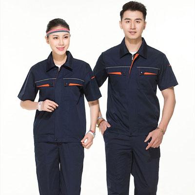 夏季工作服劳保服装短袖工作服套装