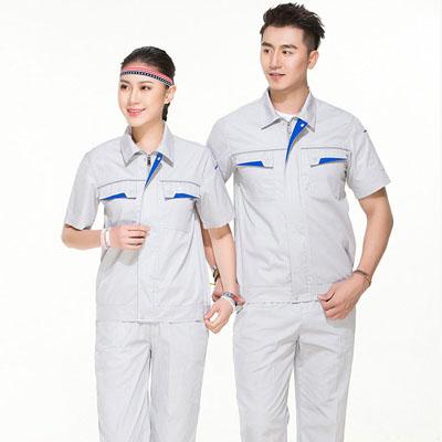 工作服夏装短袖施工员道路养护工装