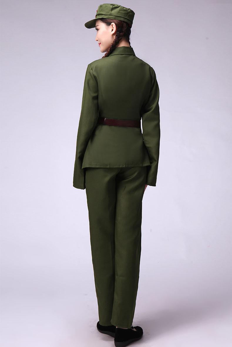 七一建党衣服红军八路军演唱服装款式图6