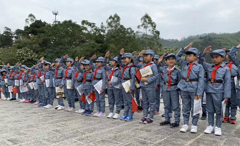 七一建党衣服红军八路军演唱服装款式图4