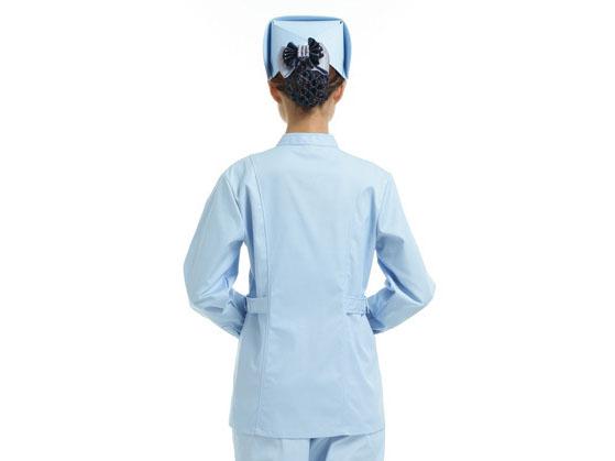 蓝色医生工作服定制款式图3