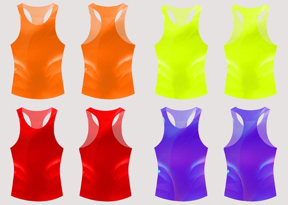 马拉松T恤背心参赛服定制款式图5