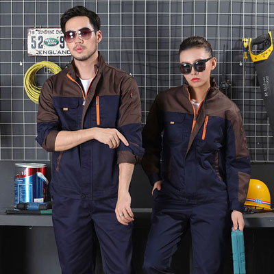 同款男女装工作服订做工程机械厂服