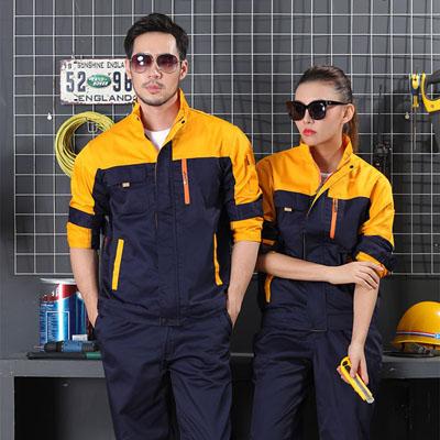 男装工作服订做女装工衣厂服定制
