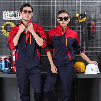 男女装工作服订做机械工程施工工服