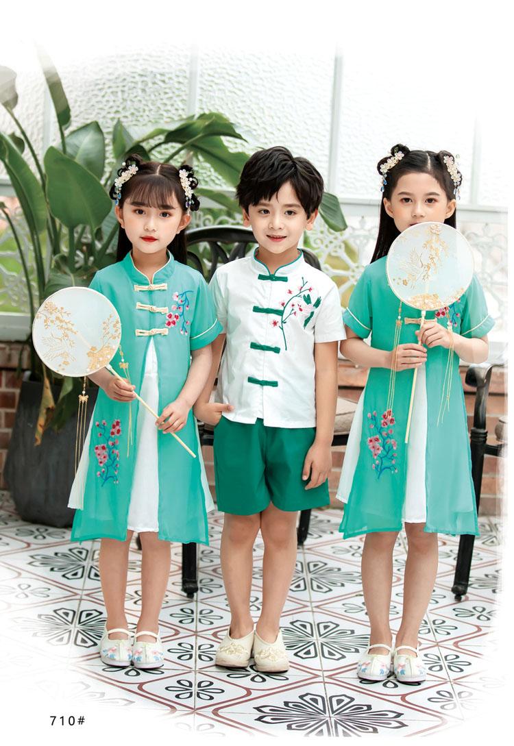 幼儿园小朋友表演衣服五四运动会服装款式图