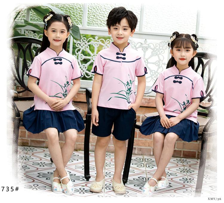 幼儿园小朋友表演衣服五四运动会服装款式图6