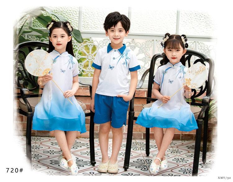 幼儿园小朋友表演衣服五四运动会服装款式图7