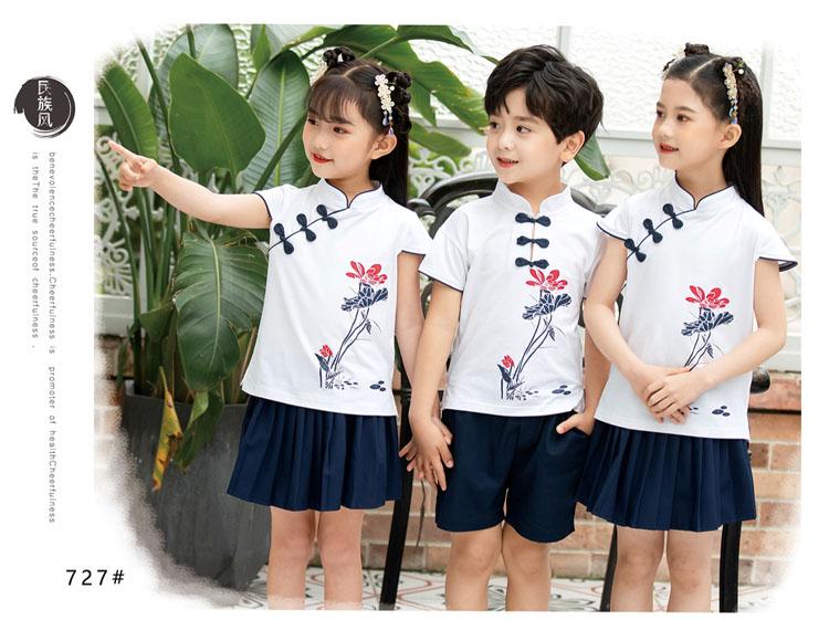 幼儿园小朋友表演衣服五四运动会服装款式图8