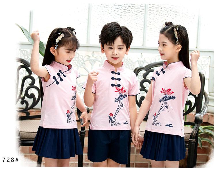 幼儿园小朋友表演衣服五四运动会服装款式图9