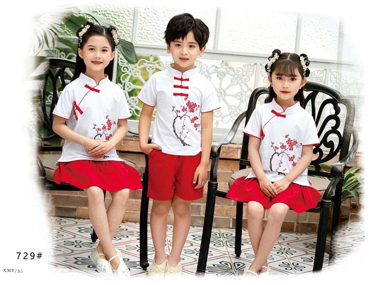 幼儿园小朋友表演衣服五四运动会服装款式图3