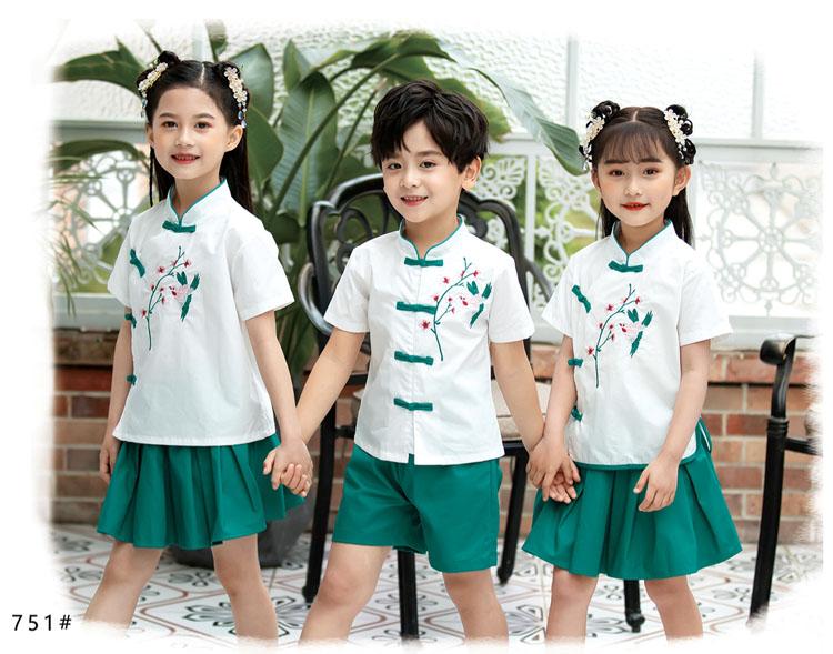 幼儿园小朋友表演衣服五四运动会服装款式图4