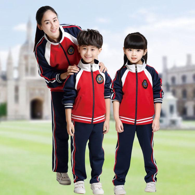 柳州飞鹅卖小学生校服班服定制的店款式图