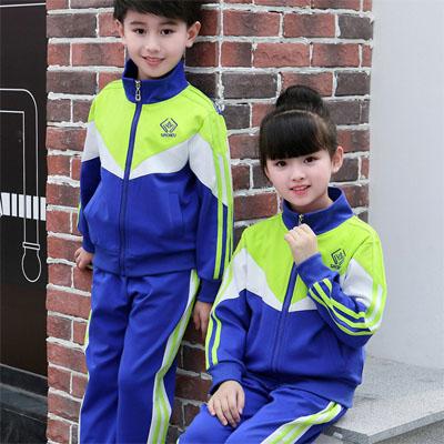 新款幼儿园儿童小学生校服运动服