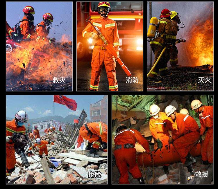消防工作服图片大全款式图3