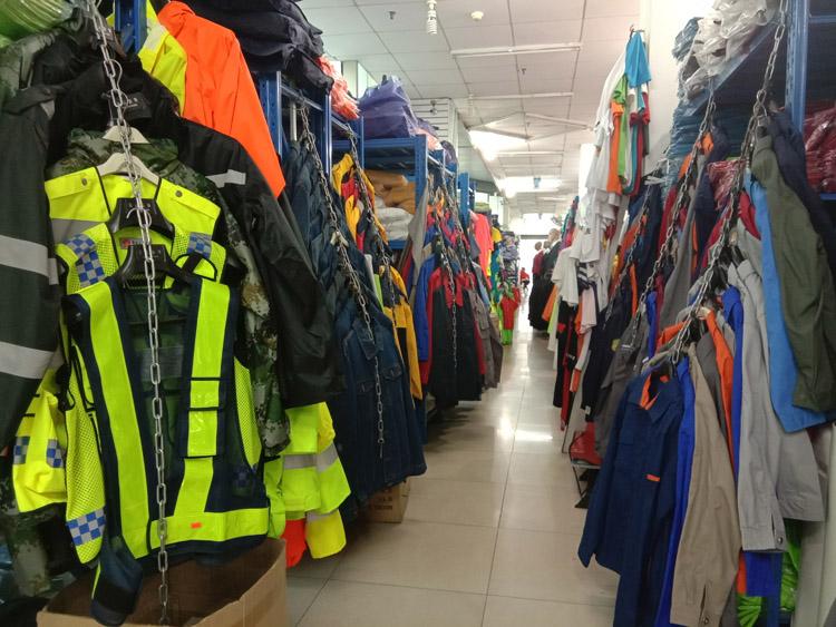 柳州哪里有定做工作服服装店款式图4